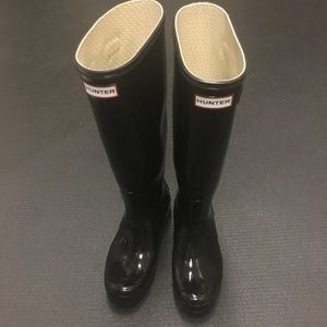 Hunter rainy boots preloved but in good condition